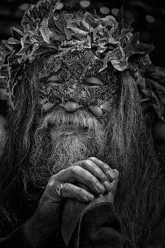 Kunstvoll gemachter älterer Mann von Atelier Liesjes
