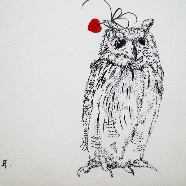 HeartFlow Uil van Helma van der Zwan