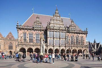 Altes Rathaus am Marktplatz , Bremen von Torsten Krüger