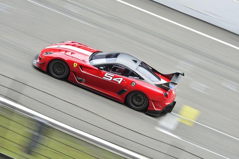Ferrari 599XX raceauto van Atelier Liesjes