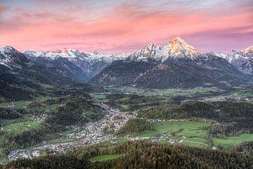 Berchtesgaden et Watzmann en Bavière