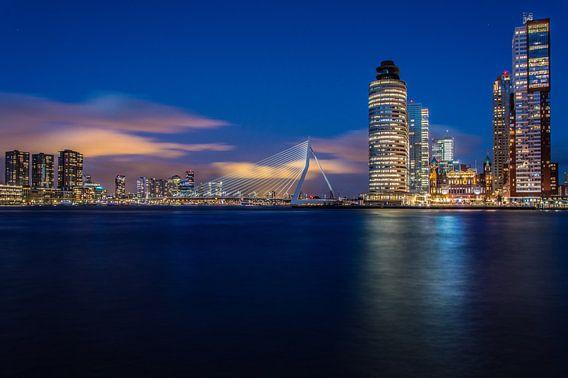 Kop van Zuid, Maas & Erasmusbrug, Rotterdam.  van Marco Faasse