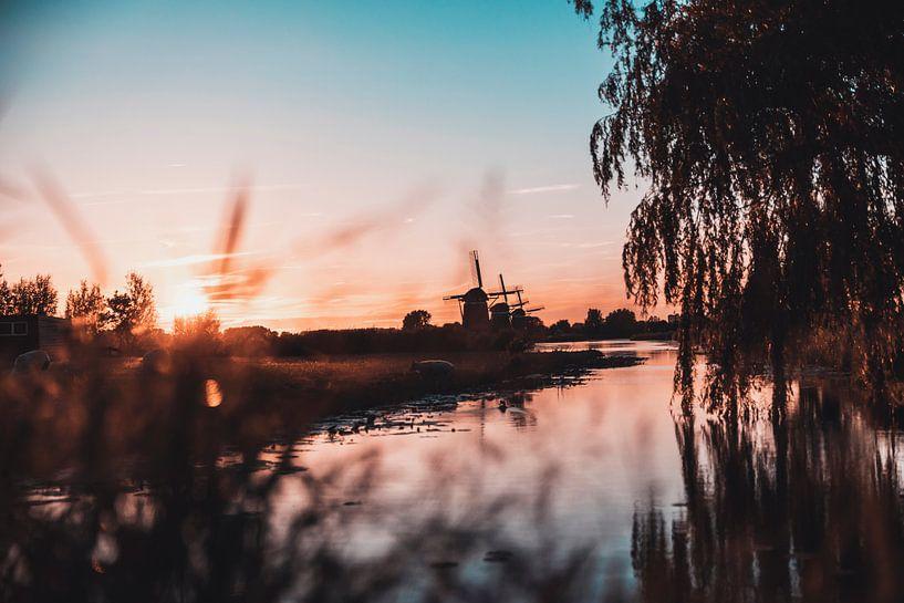 Moulin triple à Sunset sur Chris Koekenberg