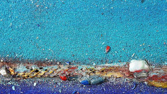 # B14 Ausschnitt aus #B1-Serie, 20 x 35 cm van Erich Keller