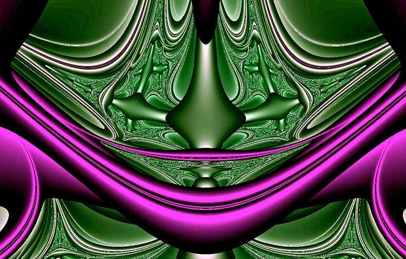 fractal (cardinaal) van Frans Beer