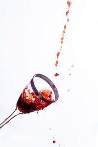 Wijn-splash nummer 1 van Rudy Rosman