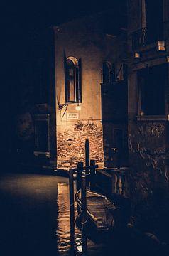 Stille avond in Venetië van Mischa Corsius
