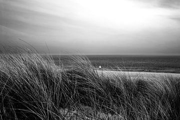 Op het strand van de Oostzee