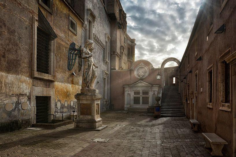 the angel of Rome van Joachim G. Pinkawa