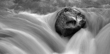 Sunwapta Falls, Jasper Nationaal Park, Canada van Henk Meijer Photography