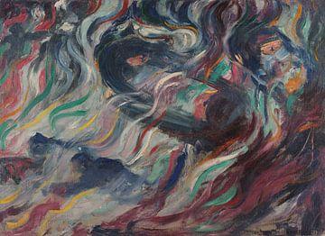 Umberto Boccioni~Der Geisteszustand, auf Wiedersehen.