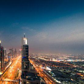 Dubai Skyline I von Dennis Wierenga