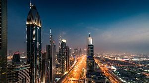 Dubai Skyline I van