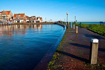 Altes Holländisches Fischerdorf in Volendam van Silva Wischeropp