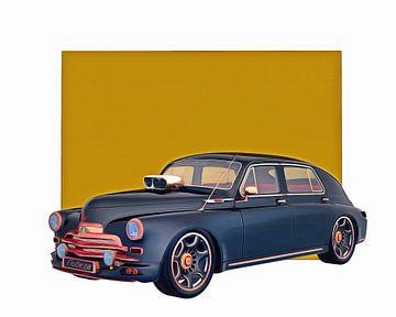 Klassieke auto – Oldtimer Gaz M-20V 1946