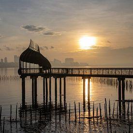 Eagle Point, Singapour sur Marlies Gerritsen