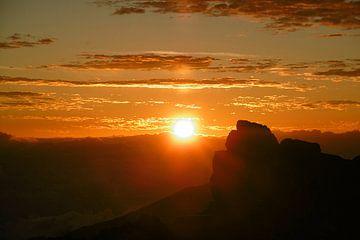 Maui Haleakalā vulkaan zonsopgang van Martina Dormann