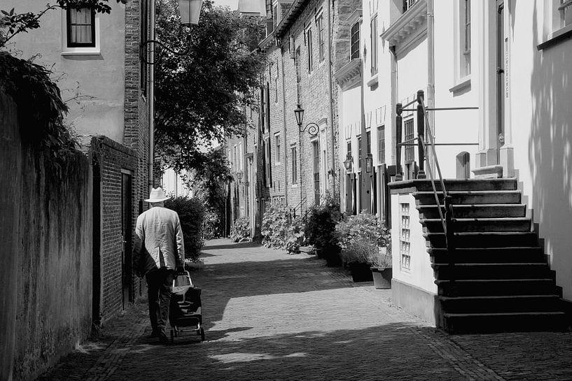 Historisch centrum, Muurhuizen Amersfoort van Inge Hogenbijl
