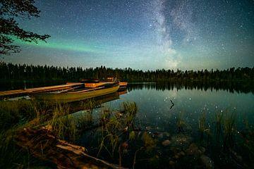 Schweden bei Nacht von Floris van Leeuwen