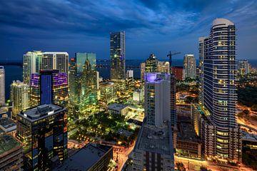 Brickell Miami Skyline von Mark den Hartog