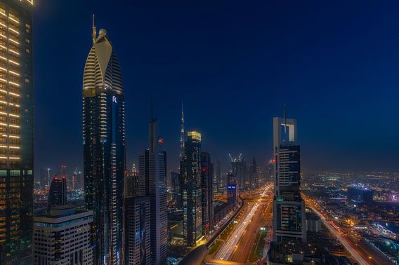 Dubai @ Level43  van Michael van der Burg