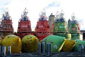 Betonning op de haven van Terschelling