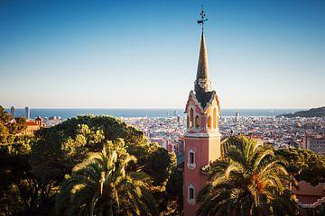 Barcelona - Skyline / Park Güell von Alexander Voss