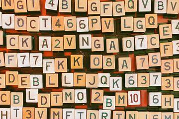 Zahlen und Buchstaben von Martin Bergsma