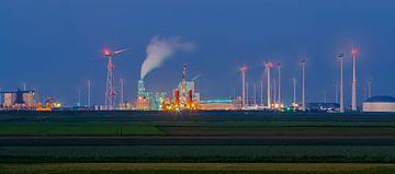 RWE Centrale, Eemshaven, Groningen van Henk Meijer Photography