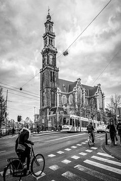 Westerkerk Amsterdam van Arno Prijs