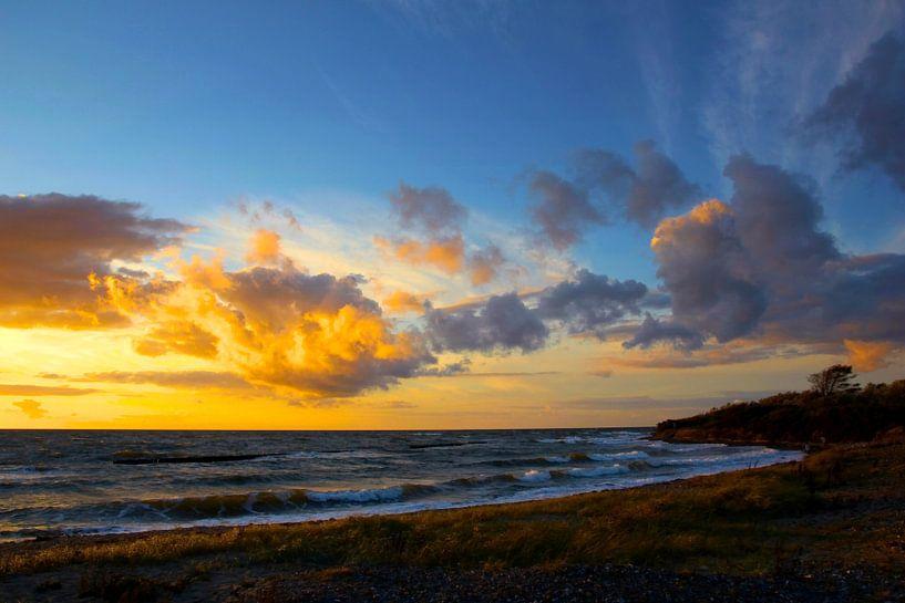 Sonnenuntergang an der Ostsee van Ostsee Bilder