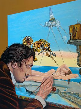 Peinture de Salvador Dali