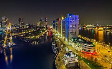 Les chantiers navals port de Rotterdam sur