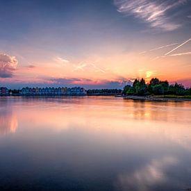 Sommerlicher Sonnenuntergang von Rene Siebring
