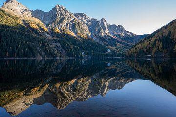 Antholzer See Antholz Dolomiten Südtirol Bergsee von Daniel Kogler