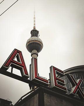 Berlijn Alexanderplatz van Robin Berndt