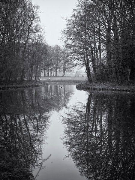 Doorkijkje. Steenstrapark, Heemskerk