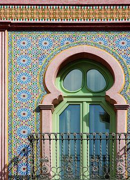Maurische Mosaikfassade in Spanien von Marianne Ottemann - OTTI