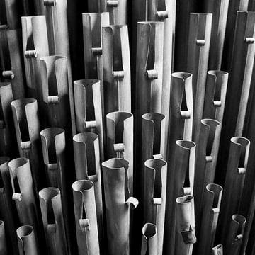 Orgelpijpen van Bart van Uitert