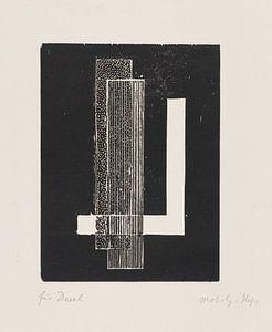 Bauhaus, LÁSZLÓ MOHOLY-NAGY, zonder titel, 1922