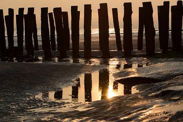 Abendlicht am Strand von Mario Lere