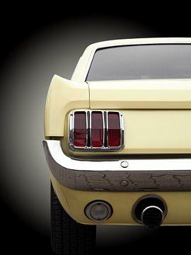 Amerikaanse klassieke auto's Mustang 1965 van Beate Gube