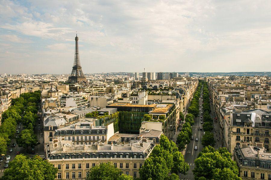Eiffeltoren van Melvin Erné