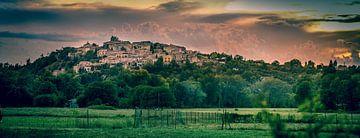 Sonnenuntergang in Dauphin Frankreich von Gerco Stokvis
