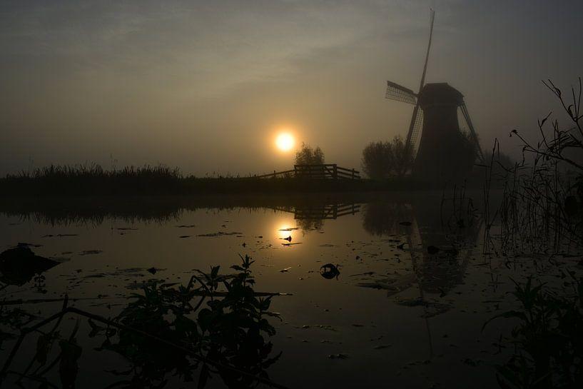 Ochtend bij de molen van Maurice Kruk