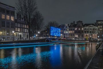 """Amsterdamer Lichtfest """"Vincent van Gogh von ina kleiman"""