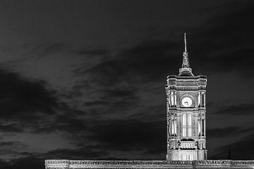 Turm des Roten Rathaus - Regierungssitz des Berliner Senates