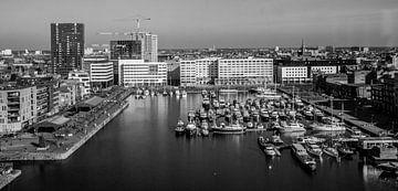 Antwerpen vanaf het Museum aan de Stroom von Ronald De Neve