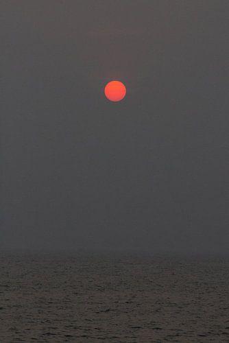 Zonsondergang in India | Reisfotografie | Goa