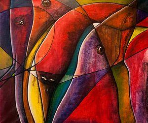 Glas in lood look! von Mary Pedersen